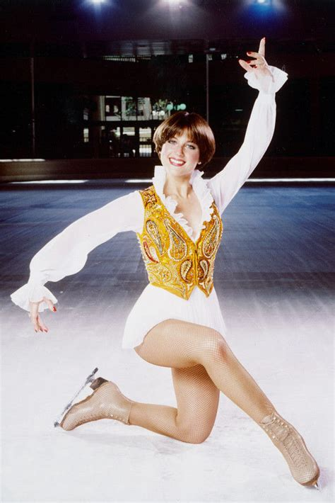 famous ice skater haircut dorothy hamill color 24x36 poster print skating on ice ebay