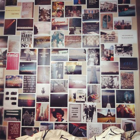 bedroom wall picture collage wall collaging