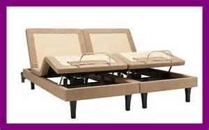 king split adjustable bed serta motion perfect 2 adjustable bed split cal king or