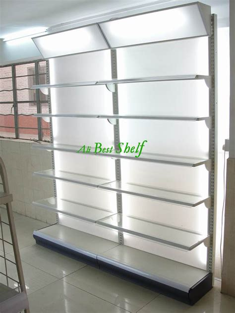Shop Racks Price Supermarket Gondola Shelf Metal Store Display Rack With
