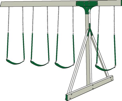 swing set placement swing beams for swing sets adventure world playsets