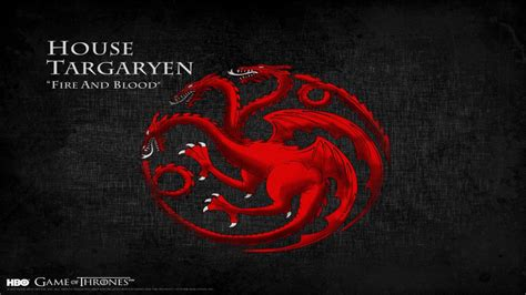 haus targaryen house targaryen dragons themes s1 s6 of thrones
