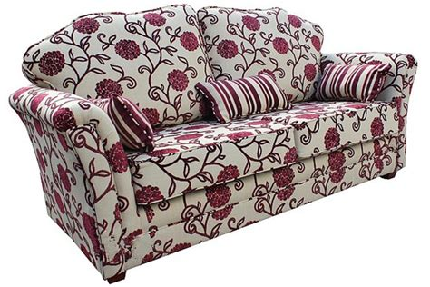 floral fabric sofa buy fabric 3 seat sofa 12 month warranty designersofas4u