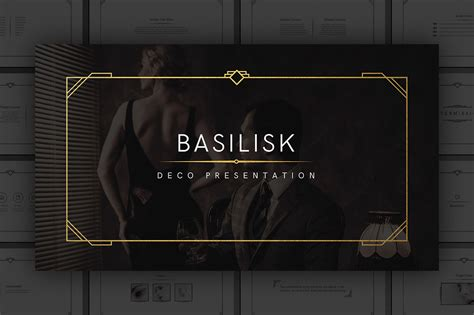 deco templates free basilisk deco presentation template by tugcu design