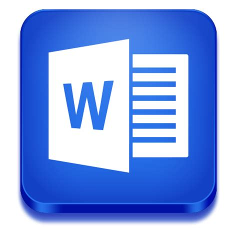 Microsoft Office Icon by Word Icon Microsoft Office 2013 Iconset Iconstoc