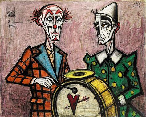 bernard buffet 1928 1999 deux clowns 224 la grosse
