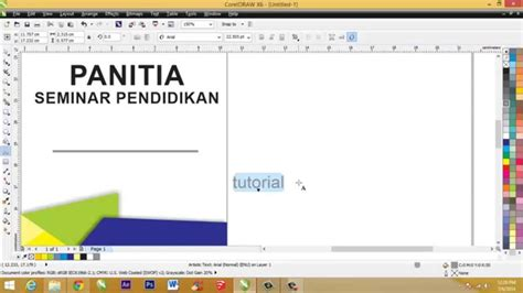cara membuat id card madridista indonesia cara membuat id card sederhana dengan coreldraw youtube