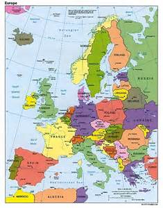 Countries In Europe Map by Map Of Europe Cities Pictures Map Of Europe Countries