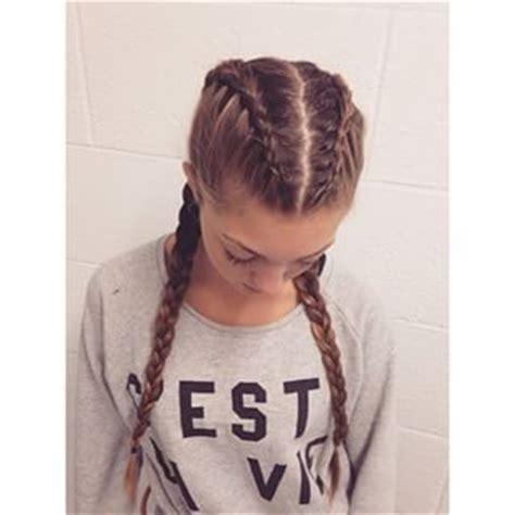 two dutch braids hairstyles two dutch braids hair inspo pinterest double dutch