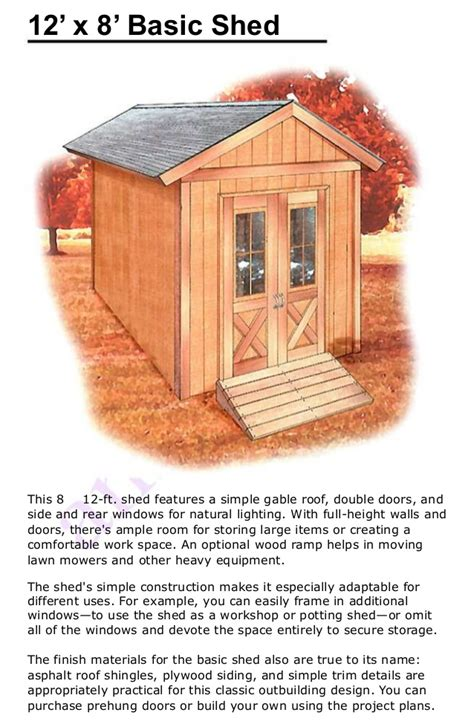 how to build a wood shed step by step diy woodworking plans