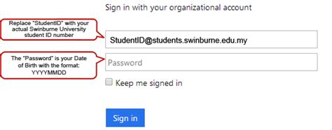 Office 365 Webmail Login by Student Email Office365 Swinburne Sarawak