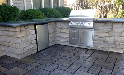 built in patio grill built in grill designed with your patio in mind