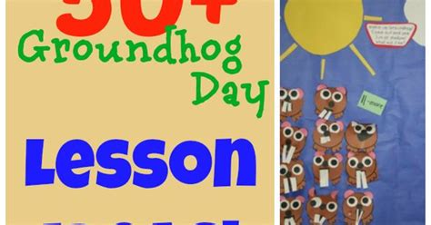 groundhog day kindergarten lesson plans groundhog day lesson plan ideas and freebies