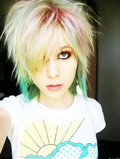 hairstyles emo short emo hairstyles for short hair emo hair styles for girls