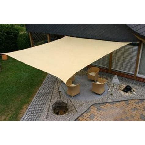 shade sail backyard new sun sail shade rectangle canopy cover outdoor patio awning 10 x 20 sun