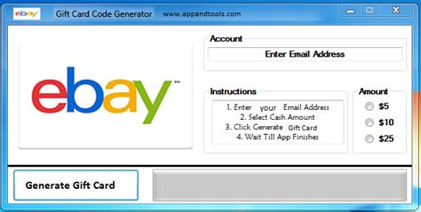 How To Check An Ebay Gift Card Balance - ebay gift card generator android