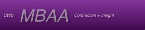 Uw Bothell Mba Consulting by Mba Association Uw Bothell Mba Association