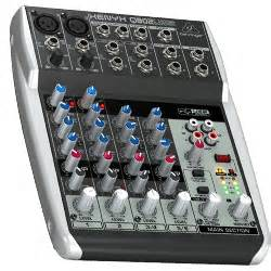 Behringer Xenyx Q802usb Premium 8 Input Mixer Usb Audio Interface behringer q802usb xenyx premium 8 input 2 mixer with xenyx mic pres and compressors