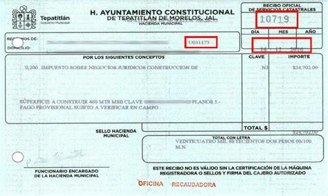 recibo predial tlajomulco de ziga facturaci 243 n electr 243 nica