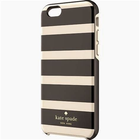 Kate Spade Striped 2 Iphone 6 Plus Custom Flip Cover robust kate spade iphone 6 fashion apple
