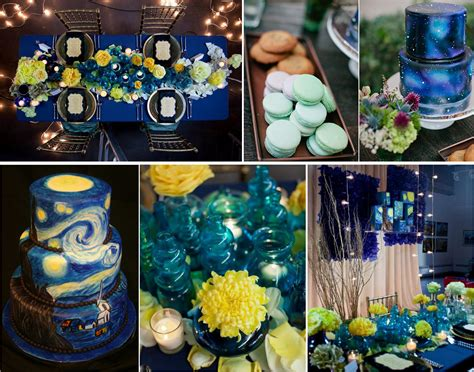starry night theme wedding inspirations lianggeyuan123