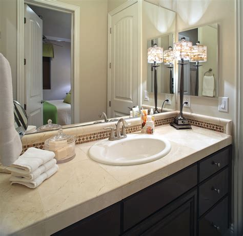 decorating ideas for a bathroom nice bathroom ideas with elegant single sink vanity with