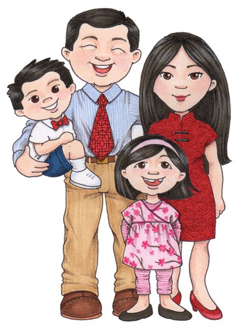 family clipart china clipart family pencil and in color china