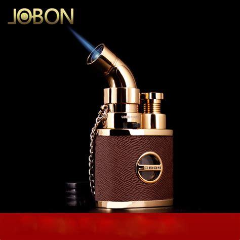 Lighter L by Jobon Torch Cigarette Lighter Jet Butane Gas Cigar