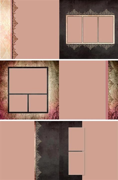 Portrait Album Templates Treasureddesigns S Blog Picture Templates