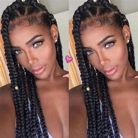 how to work out with box braids 15 box braids colors styles for summer fun 2017