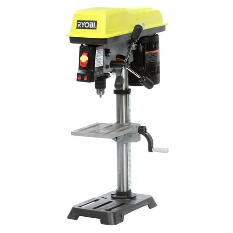 l parts home depot ryobi 10 in drill press with laser dp103l the home depot