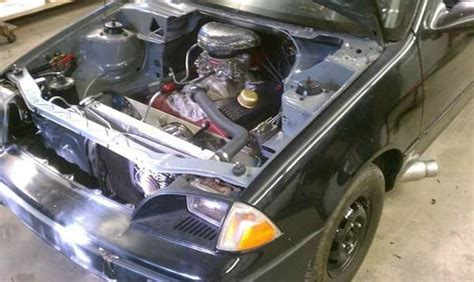 how does a cars engine work 1993 geo tracker electronic valve timing bangshift com with this v8 swapped geo metro you can get to know your self preservation