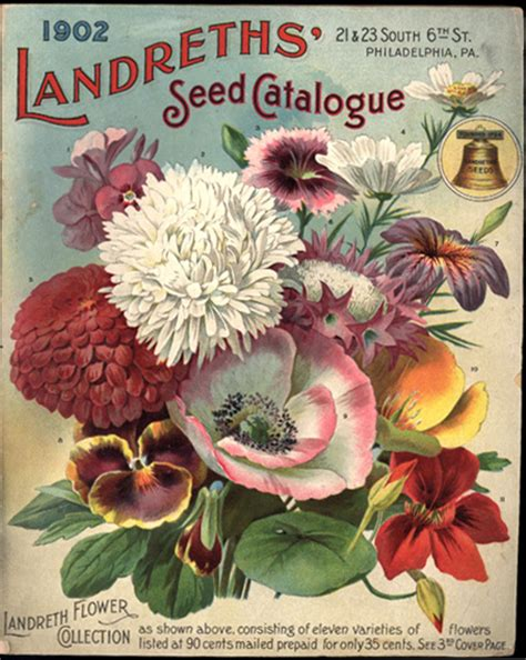 Flower Garden Catalogs The Of Delaware The Of Botanical Illustration Nursery And Seed Catalogs