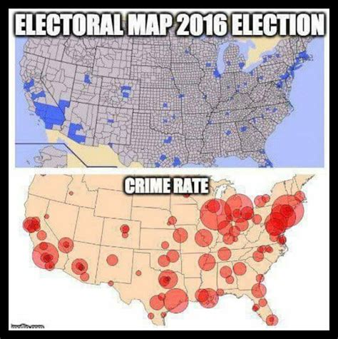 what city has the most murders in 2016 that viral map comparing the 2016 election results to the
