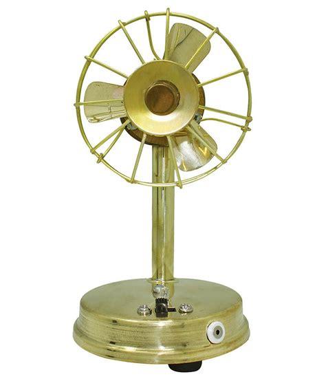 small table fan price frabjous yellow brass mini table fan best price in india
