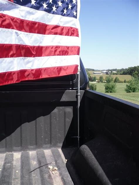 flags for truck beds truck bed flag flag mount ideas page 2 ford f150