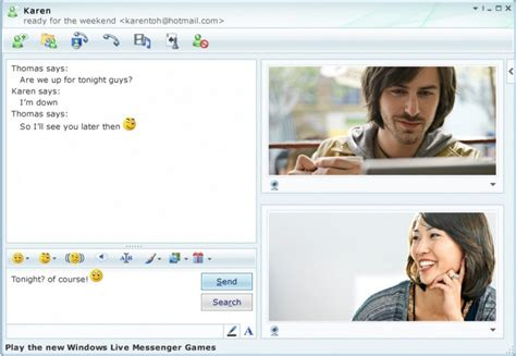 xbox live chat room r i p msn messenger