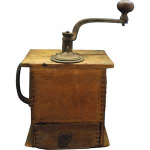 Cast Iron Coffee Grinder Cast Iron Wood Coffee Grinder Early 1900s From Rubylane