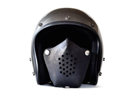 Motorrad Masken by Leather Motorcycle Masks By Sunday Academy