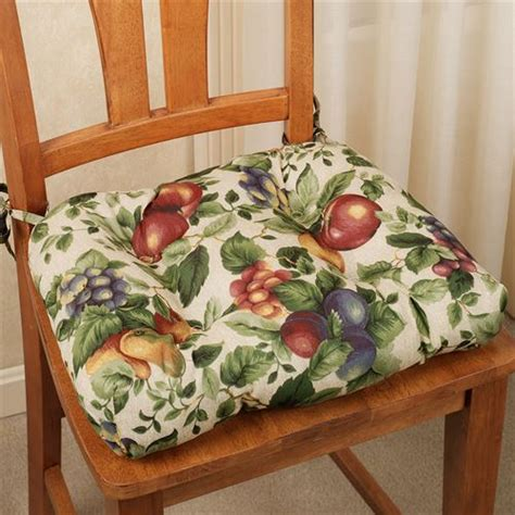 kitchen table bench cushions sonoma fruit chair cushion set of 2