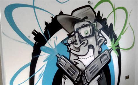 graffiti news graffiti bedroom wallpaper cartoon