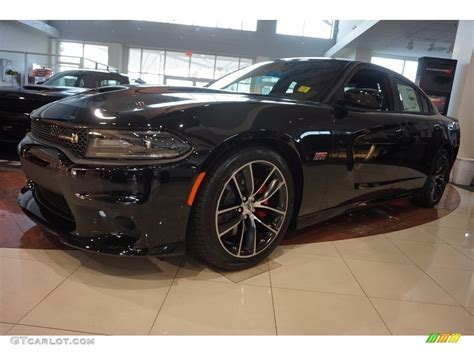 black charger with interior 2017 pitch black dodge charger r t pack 117265454