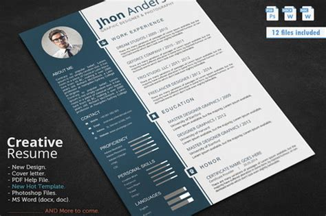 creative resume template docx best resume templates in 2015 docx psd scoop it