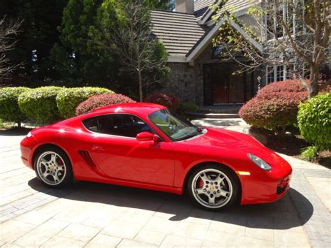 porsche cayman for sale california sell used 2007 porsche cayman s in orick california