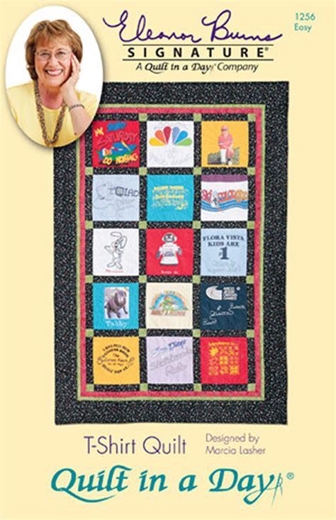 T Shirt Quilt Template by T Shirt Quilt Eleanor Burns Signature Quilt Pattern Qd