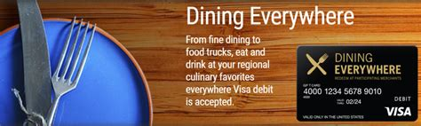 Dining Everywhere Gift Card - the dining everywhere visa is 5x or 2 65x worth the headache frequent miler