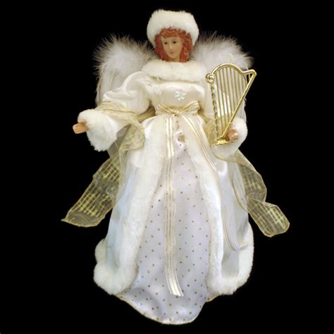 motorized angel tree topper wings head and arms move tree toppers shop collectibles daily