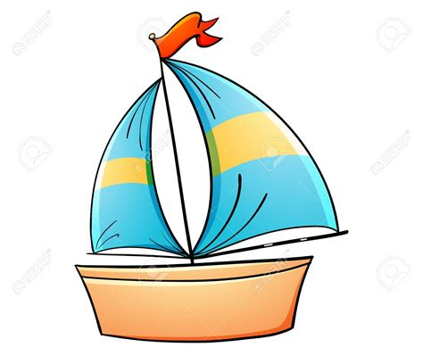 toy boats cartoon st clipart boat toy pencil and in color st clipart