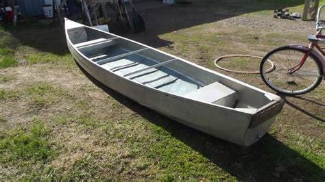 flat bottom boats on craigslist 16ft 197x aerocraft cherokee 16 canoe aerocraft boats