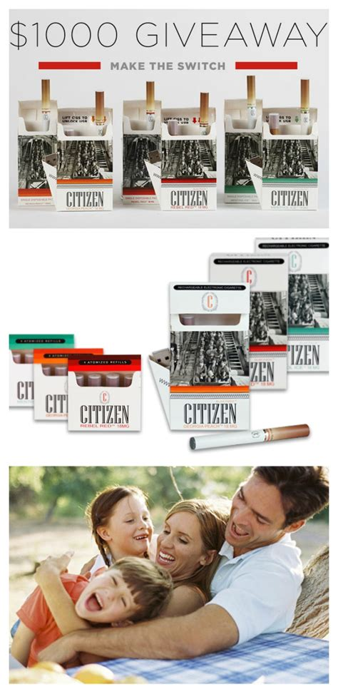 E Cig Giveaway - citizen e cig helps you keep your resolution divine lifestyle